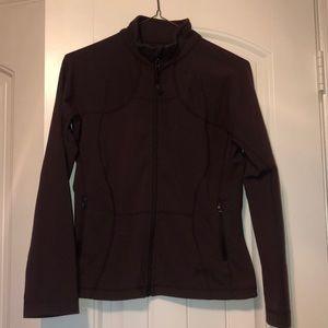 Women's lululemon maroon zip up jacket